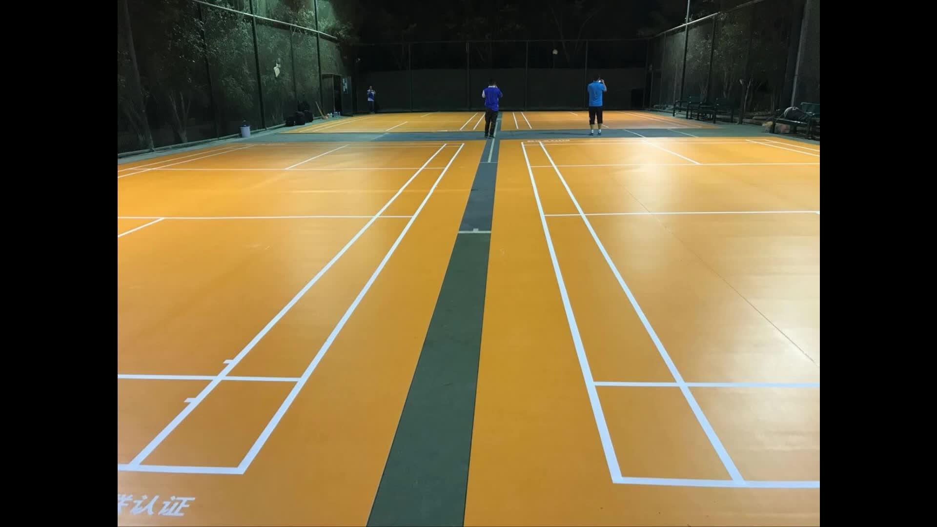Enlio Badminton mat with BWF Certification