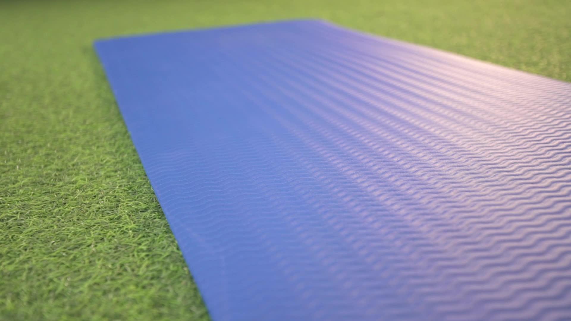 10mm Großhandel Anti Slip Extra Dicke Yoga-Matte
