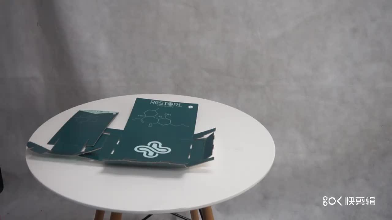 A3 A4 A5 Broschüren-Broschüren-Broschüre aus Papierkarton