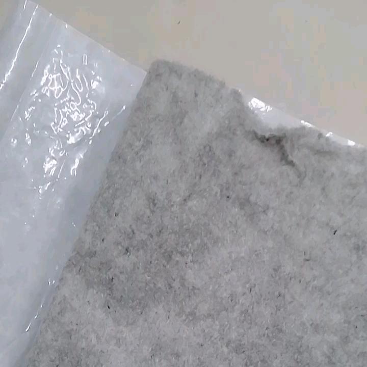 ECO freundliche nadel gestanzt polyester futter filz selbst-adhesive anti-tropf fühlte Reißfest fühlte