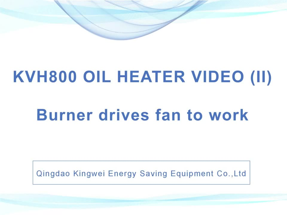 Easy to Clean Ash KVH800 Small Waste Oil Heater With Openable Chamber