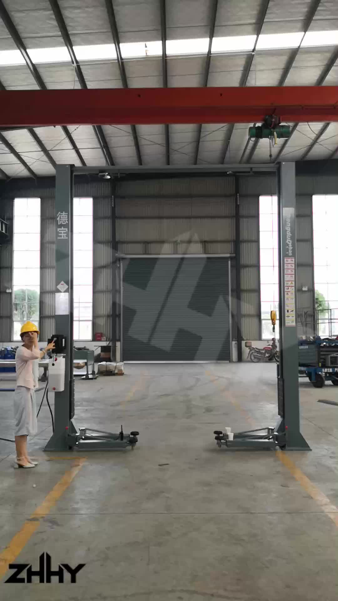 Hot selling Security gantry 4500kg car electric auto lift tow post lift