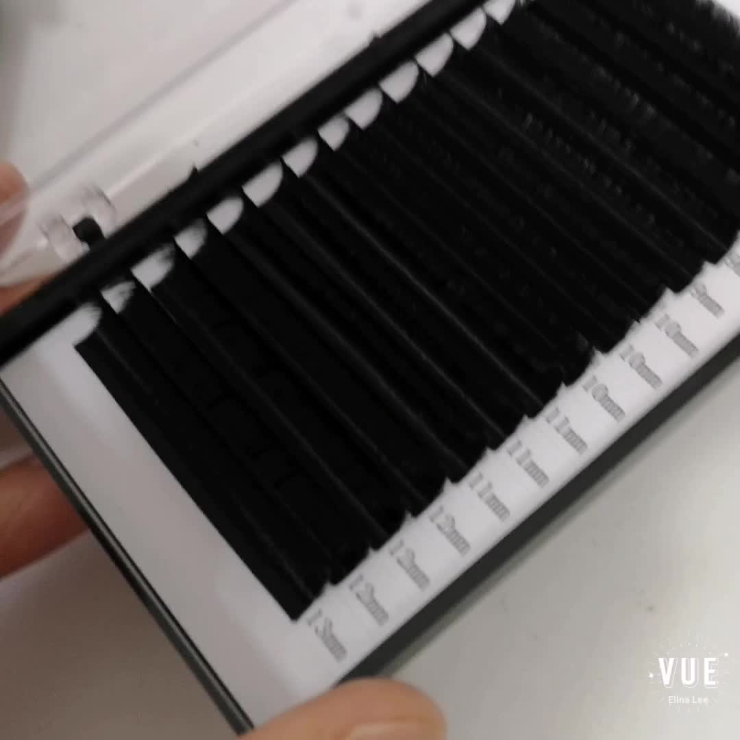 Private label Eyelashes Faux Mink Eyelash Extensions Best Selling 0.07mm 0.50mm 20mm extension lashes