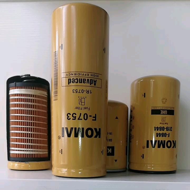 Caterpillar 굴삭기 부품 연료 필터 BF7631 1R0753 P551312