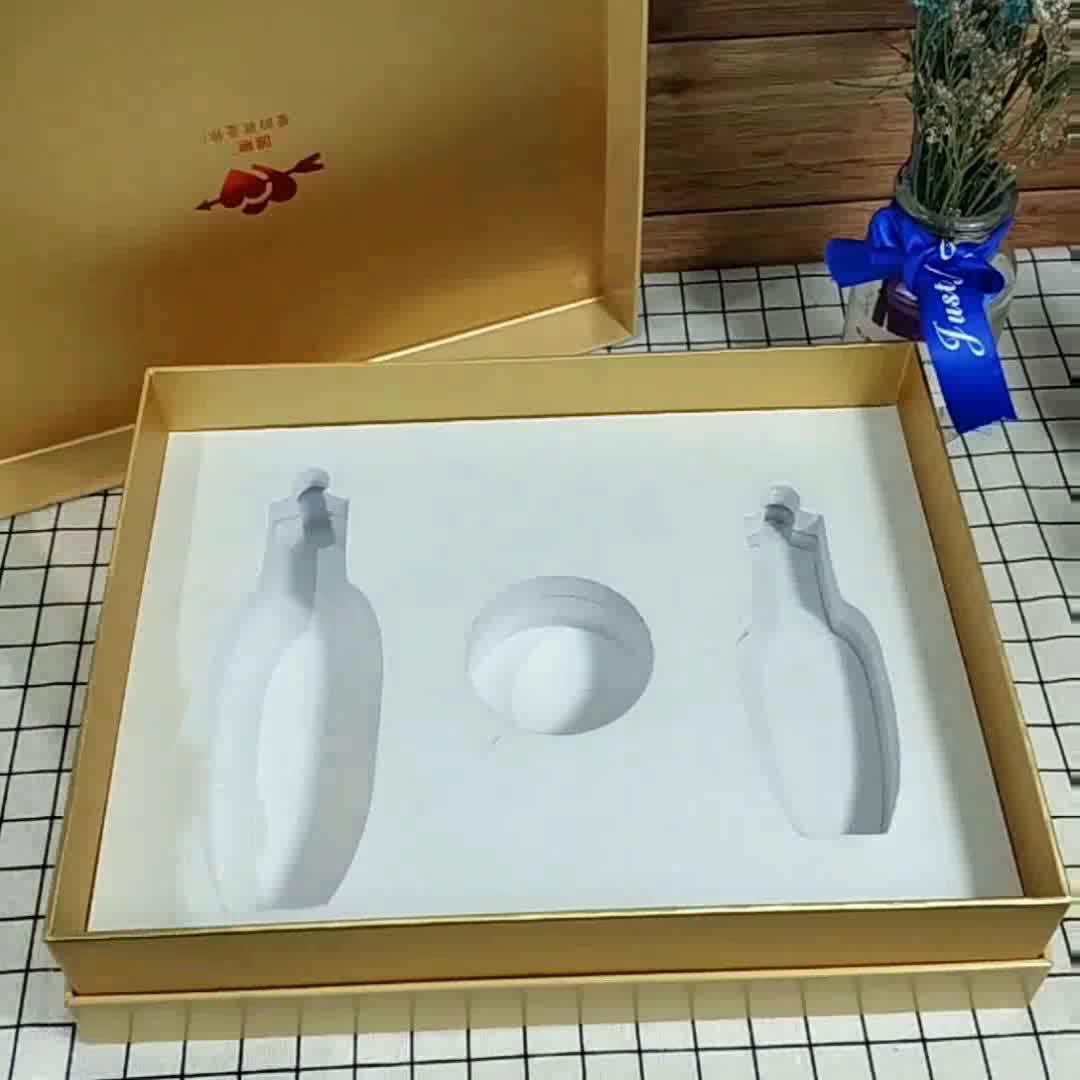 Luxo personalizado papel cartão duro fabricante caixa de embalagem caixa de presente do chá chá Verde Chinês