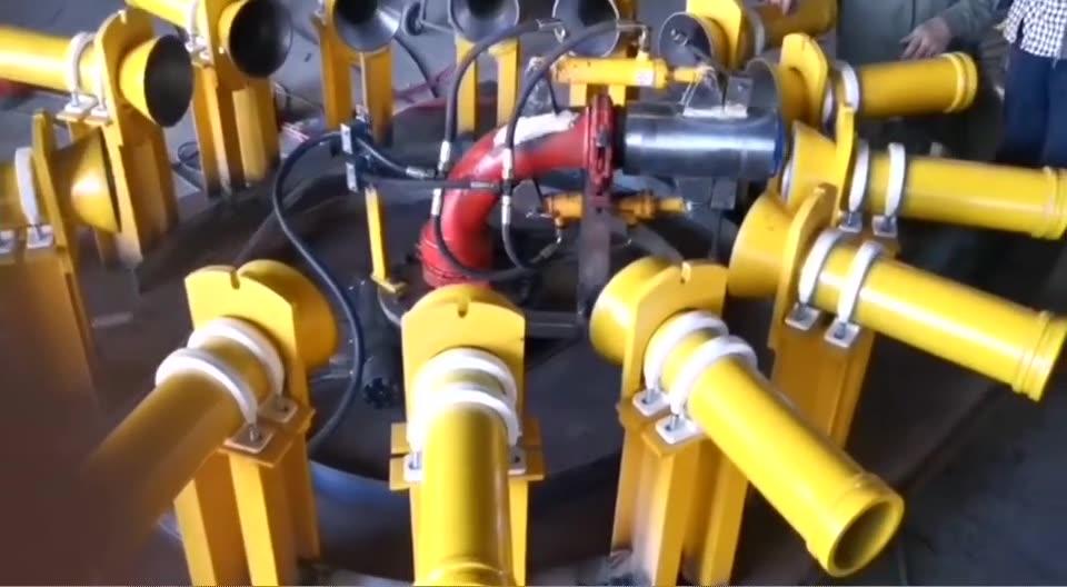 供应隧道混凝土施工自动分层布料机 二衬台车布料机