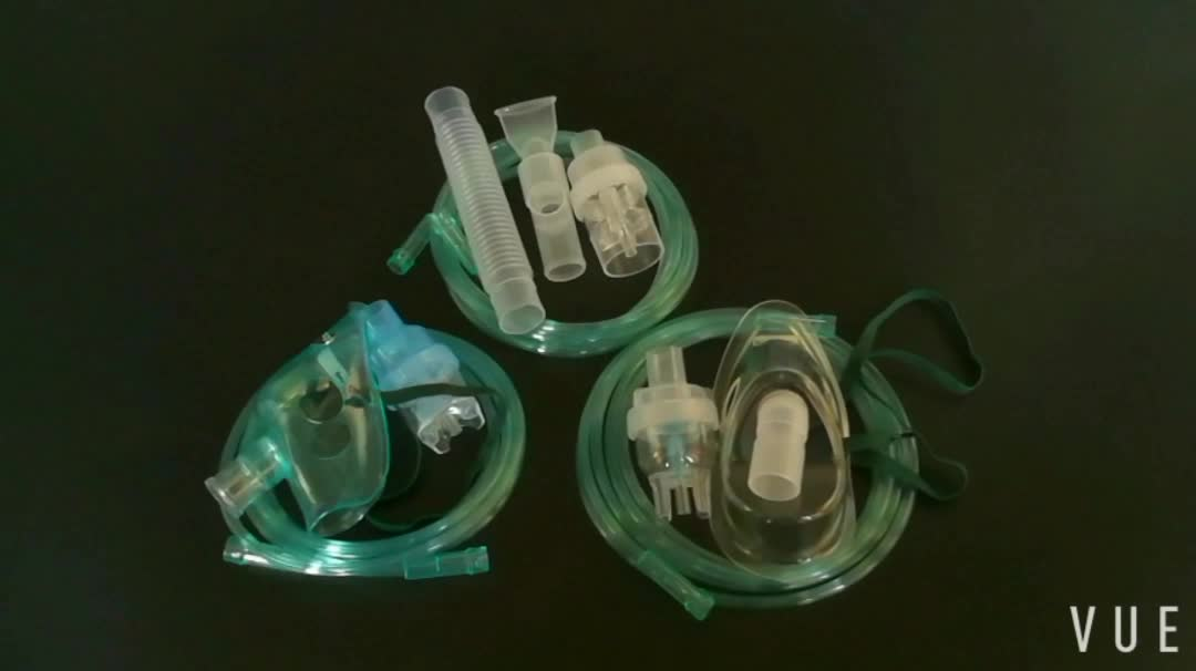 Competitive price disposable DEHP free PVC nebulizer kit with mouthpiece