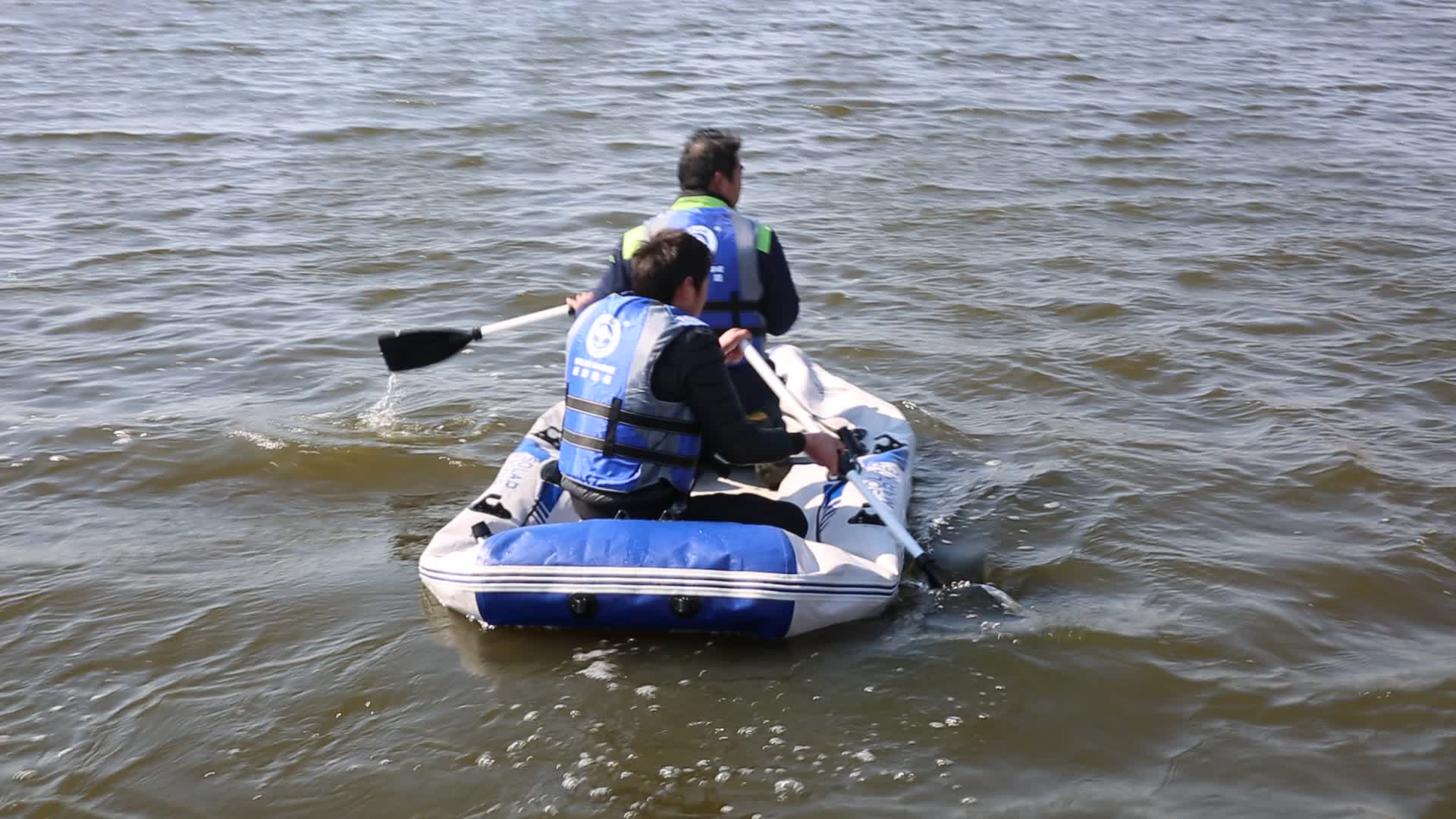 Hot Selling Roeien Motor Boot Air Deck Vloer Opblaasbare Vissersboot