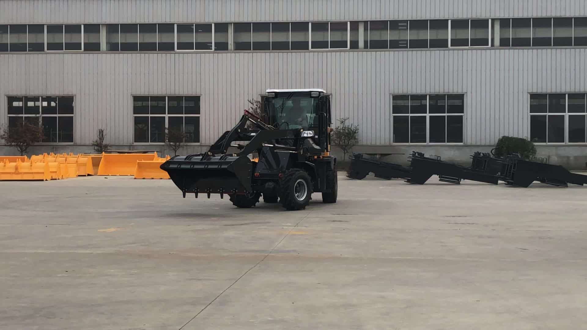 China 1 tonnen frontlader rad fabrik direkt verkauf