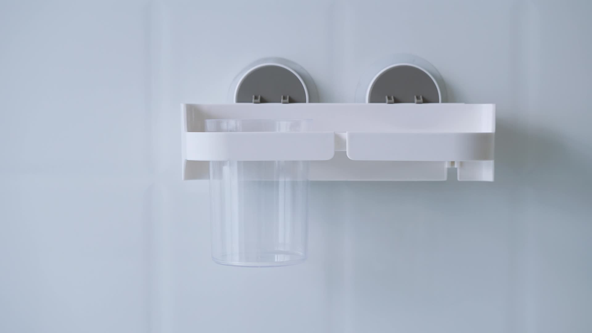 Modern Wall Mount Lijm Plastic Föhn Holder Rack