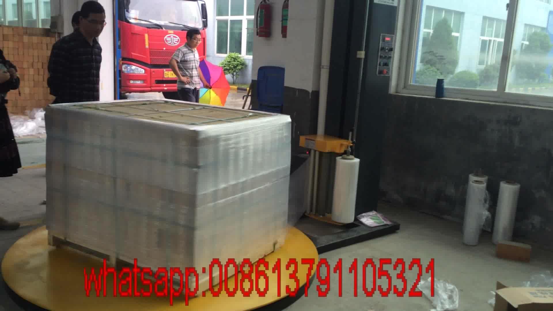 Fabrik preis TP1650F-L automatische pallet wrapping maschine mit 1650mm verpackung palette