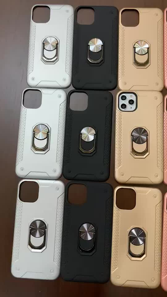 New 2020 For iPhone 11 pro Armor 2 In 1 hard PC phone accessories Shockproof TPU case antishock For iPhone 11 pro XR Max