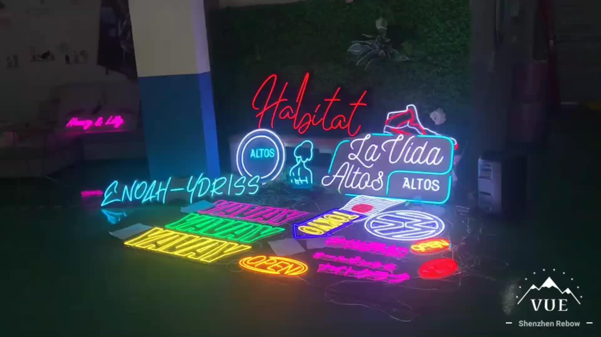 Shenzhen factory custom light sign 12v acrylic wedding welcom electronic sign led letters