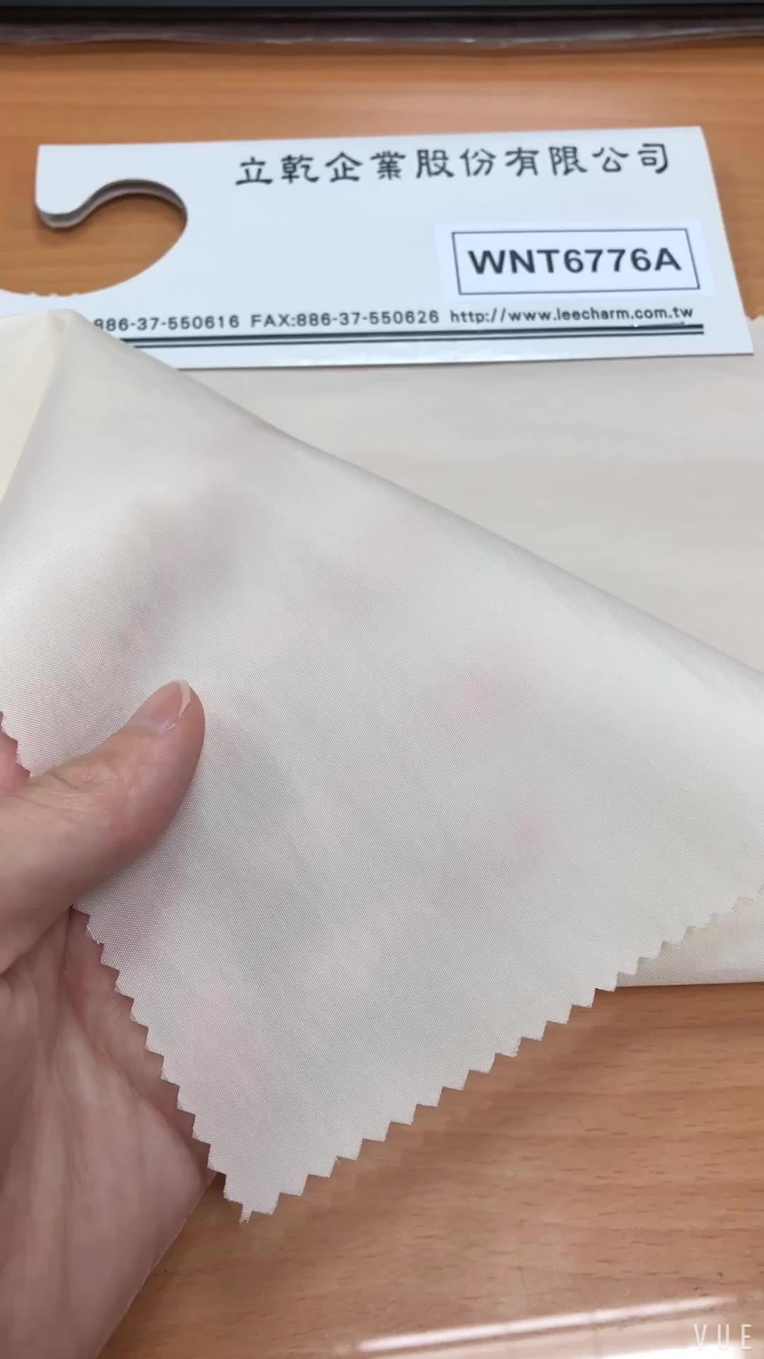 WNT6776A On Sale Taiwan Polyester Nylon Taffeta Fabric Stock Lot