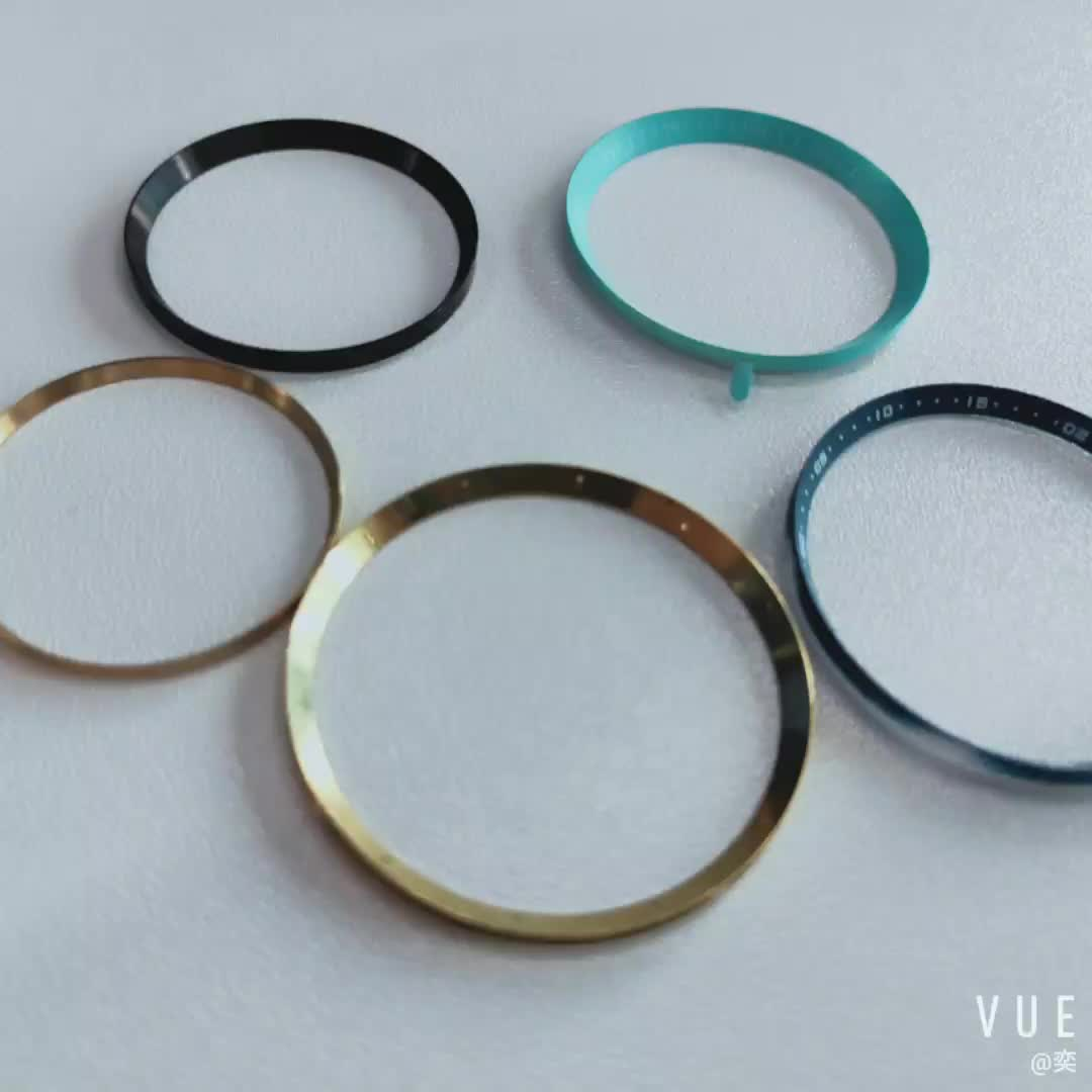 Customized Plastic Or Brass Material Ring From Watch parts