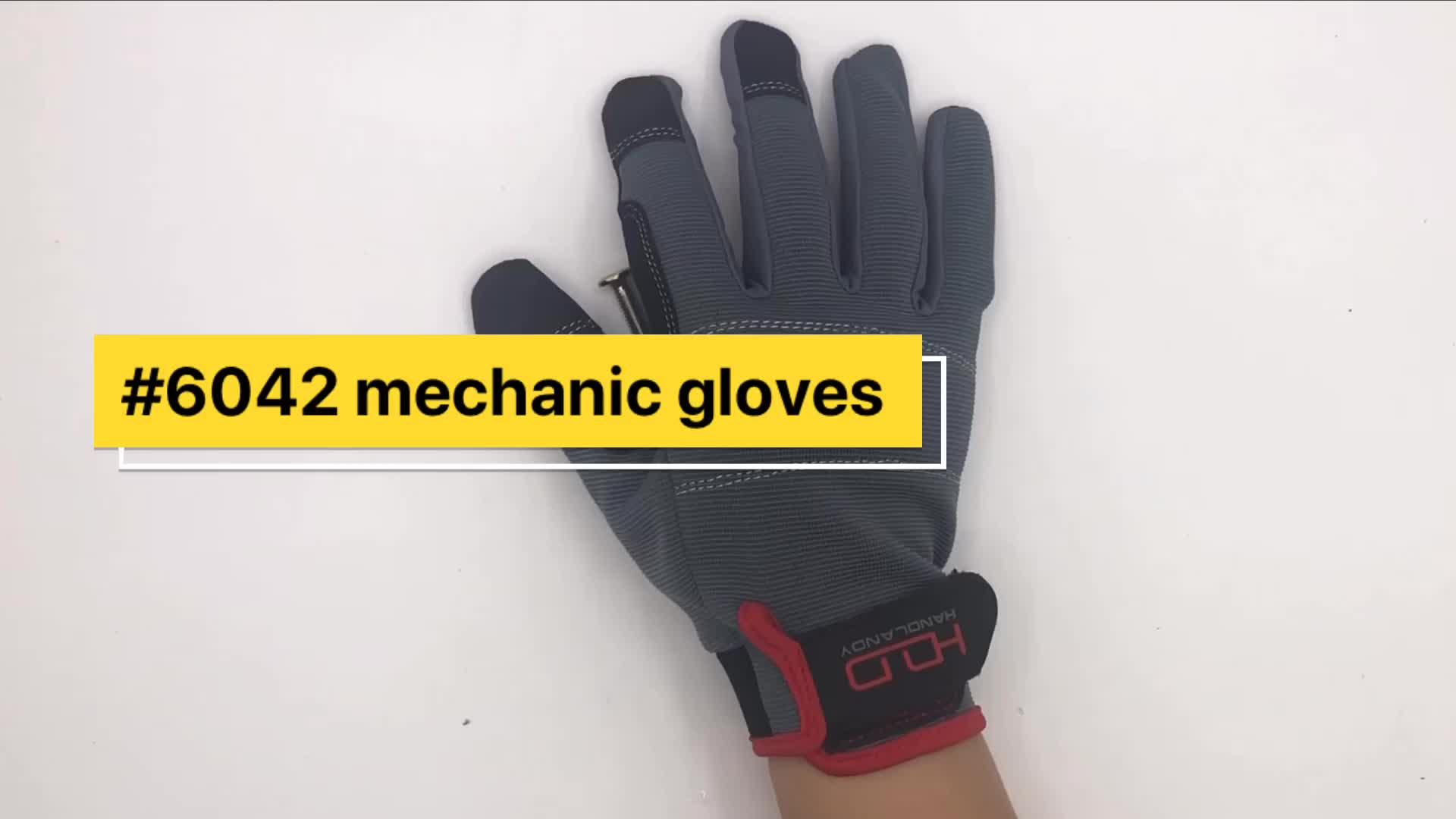 PRI Industrielle Hand Magnet Mechaniker Handschuhe