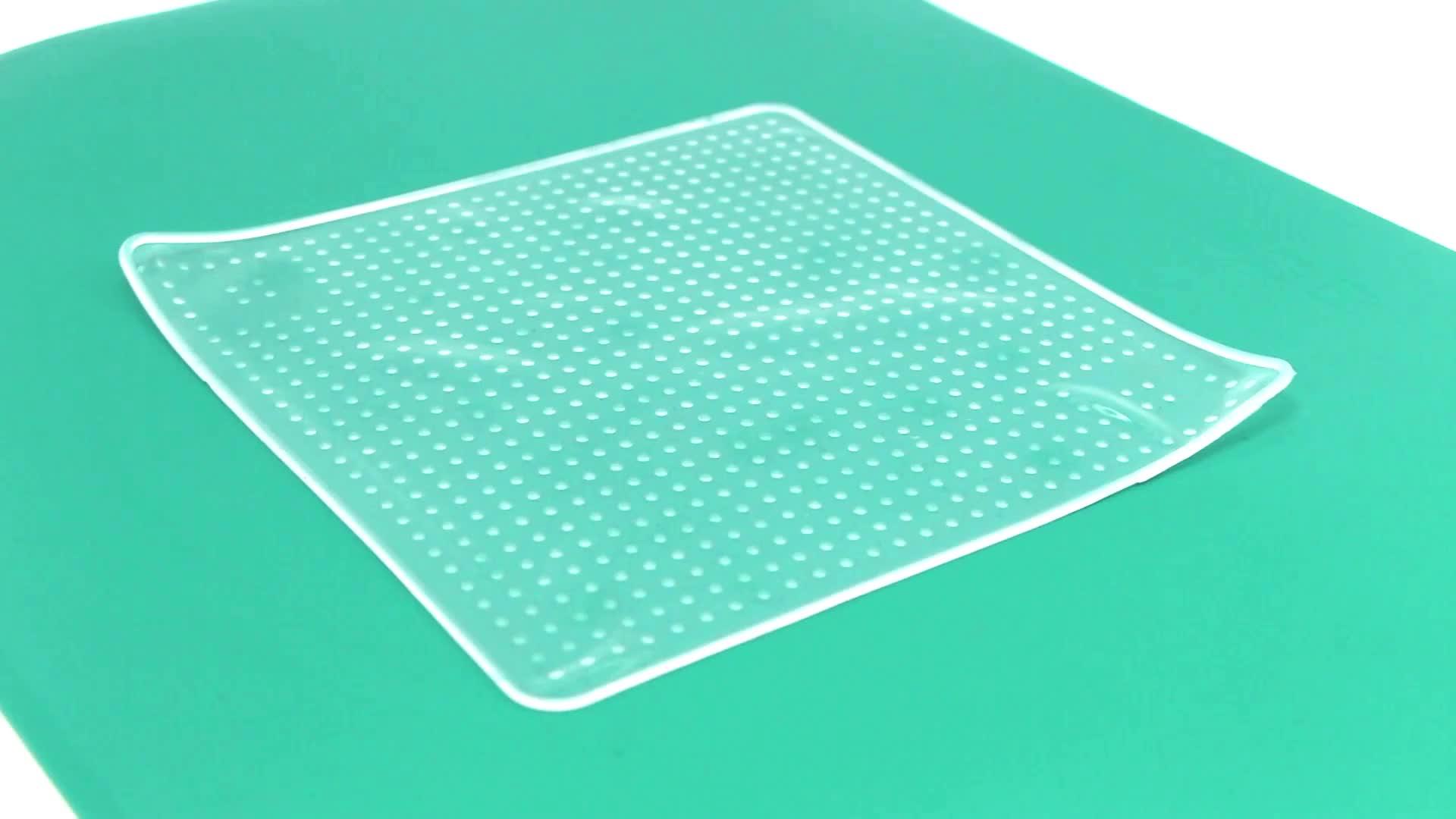 LFGB Standaard Siliconen Stretch Wrap Vershoudfolie, Voedsel Vers Houden Film, Siliconen Voedsel Wrap Stretch Film voor Voedsel