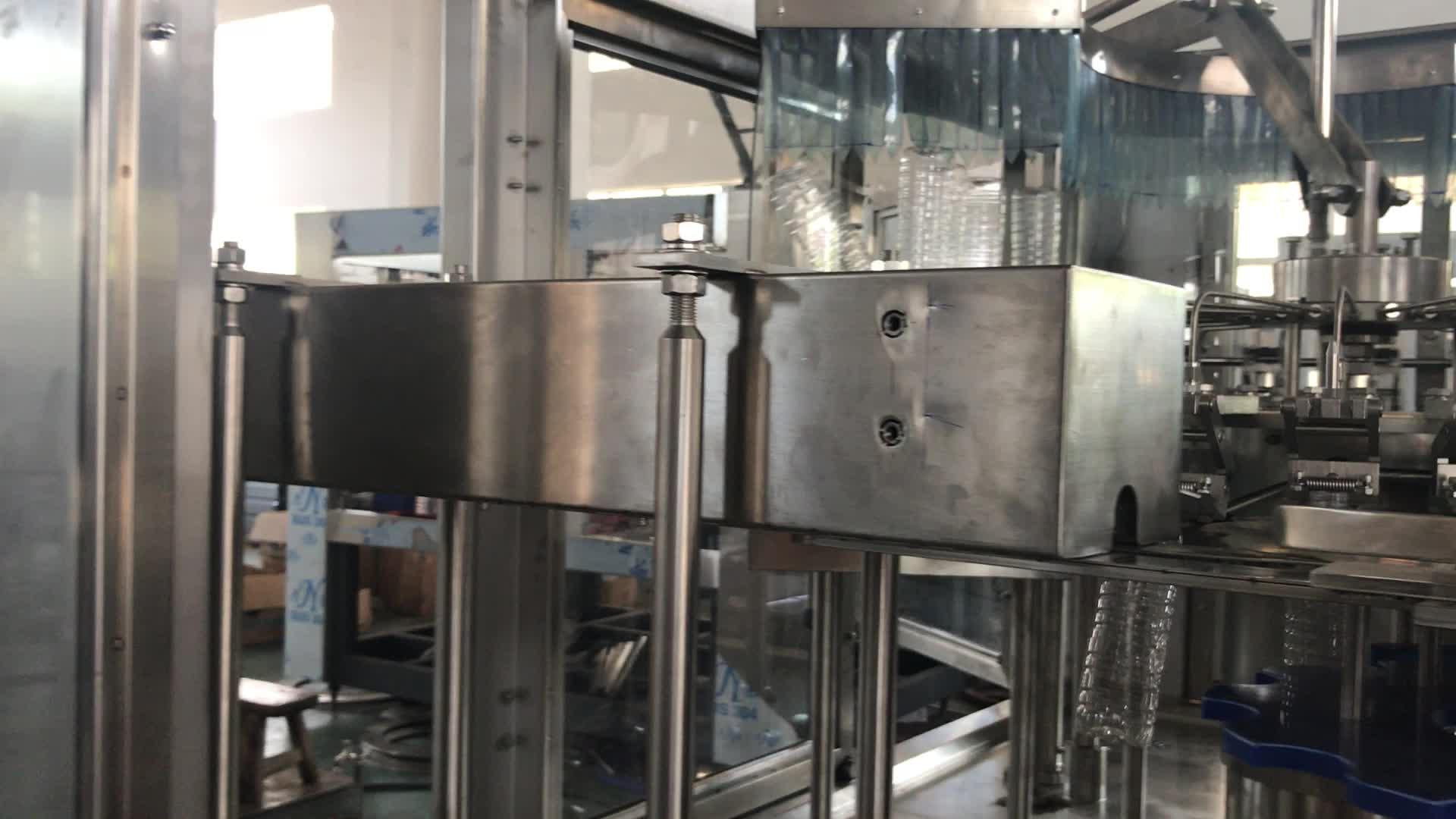 سعر جيد التلقائي 8-8-3 3000bph بنكهة روز ماكينة تعبئة المياه للبيع