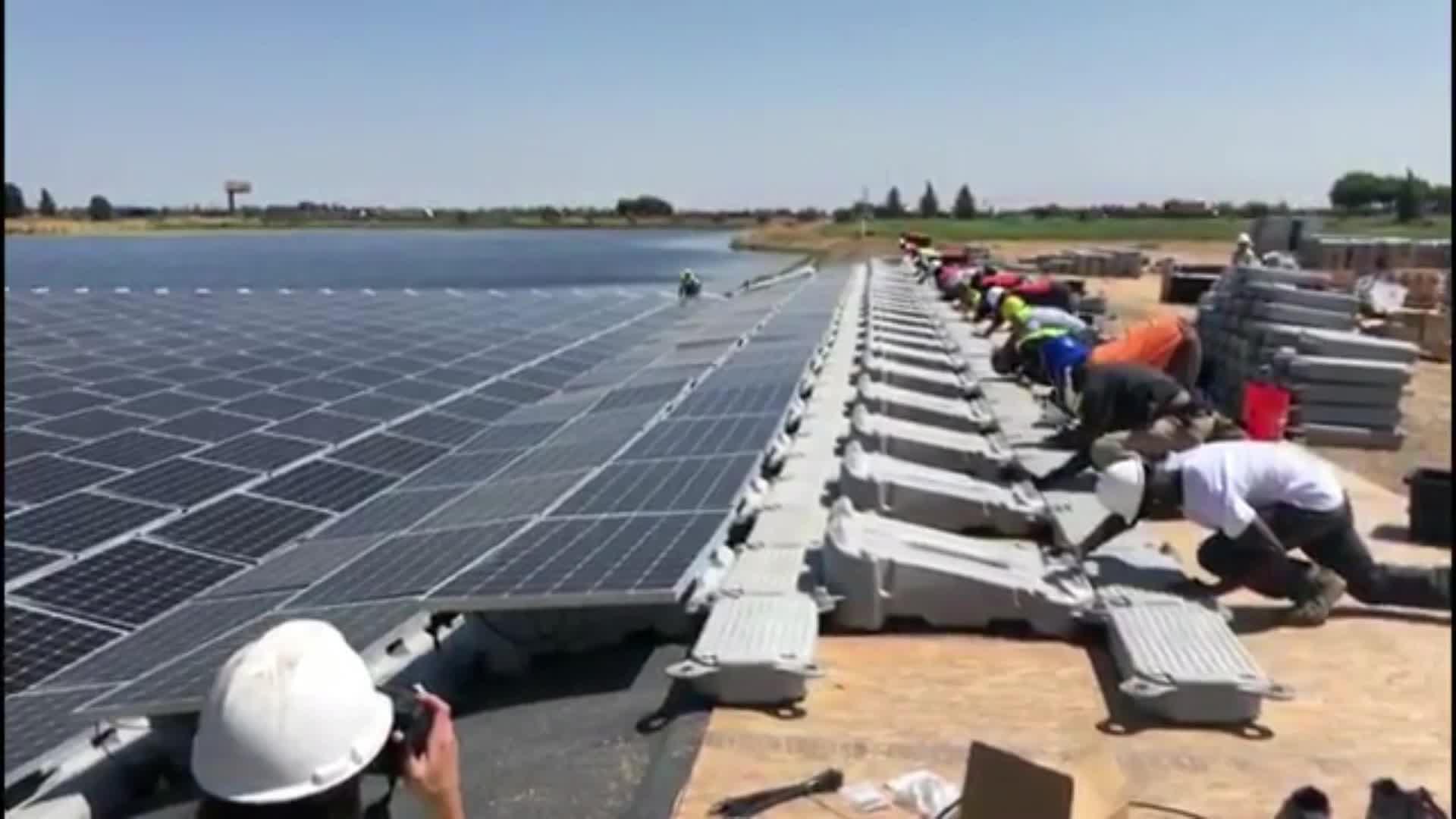 Floating Solar Platform, Floating Solar, Floating Solar Panels