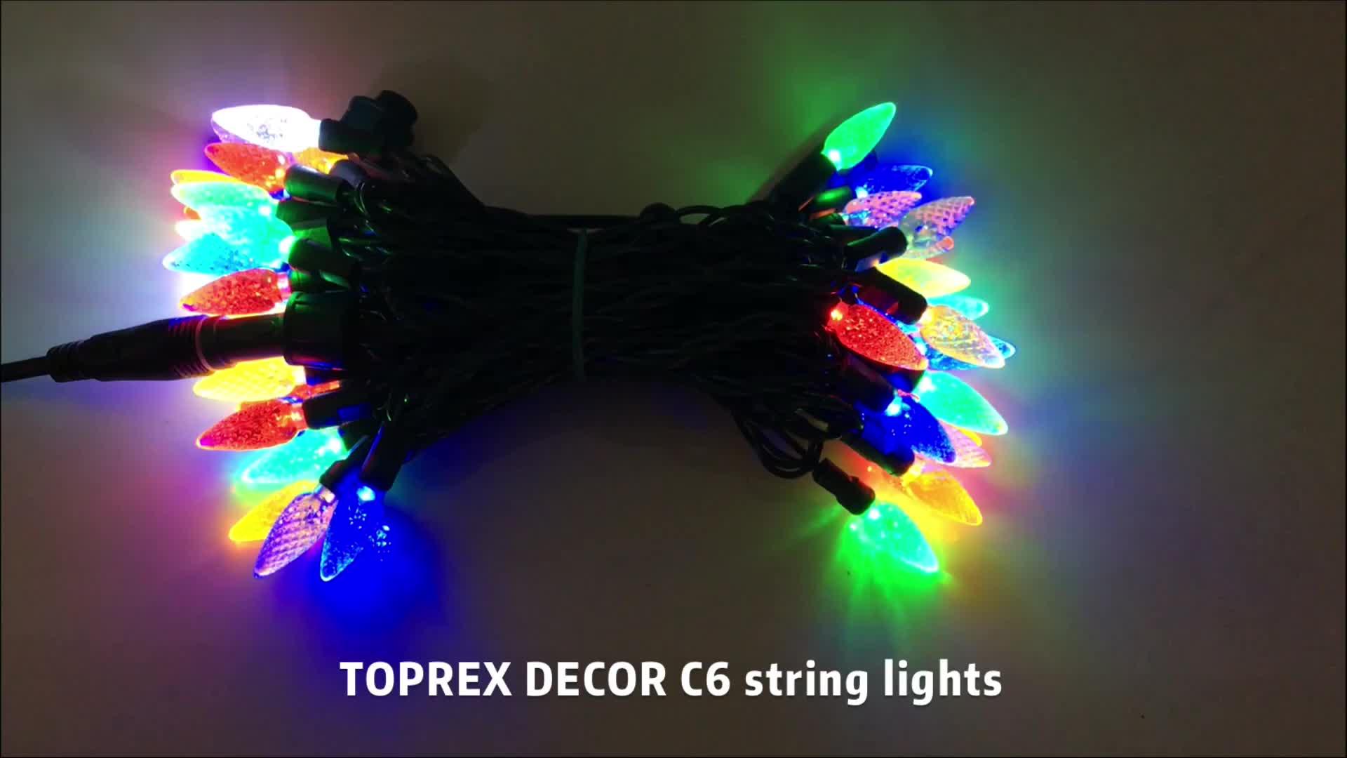 安いクリスマスライトバルクセリエデルセス led 点灯イチゴストリングライト