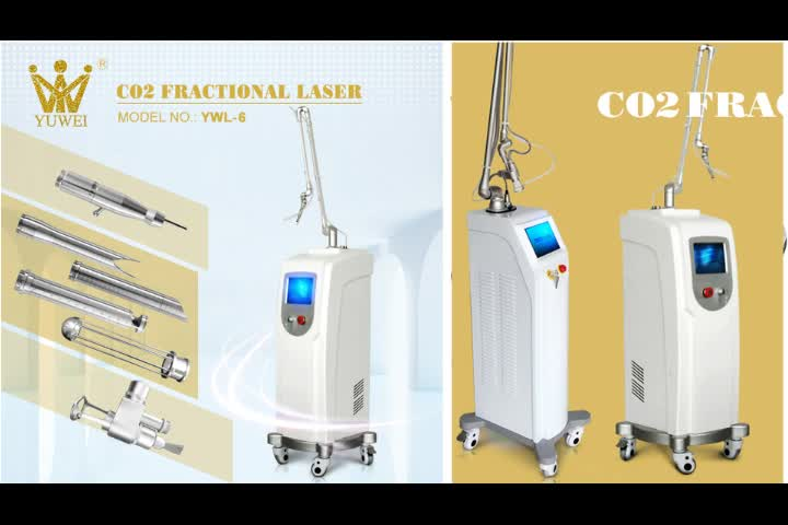 Newest ance scar removal erbium laser 2940nm fractional laser