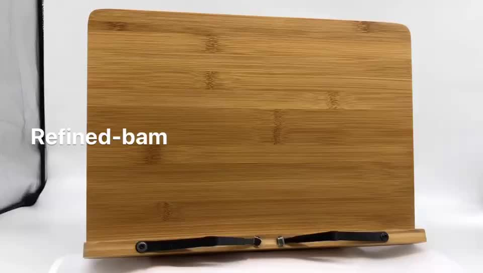 Refined-Bam Good Price Bamboo Book Holder