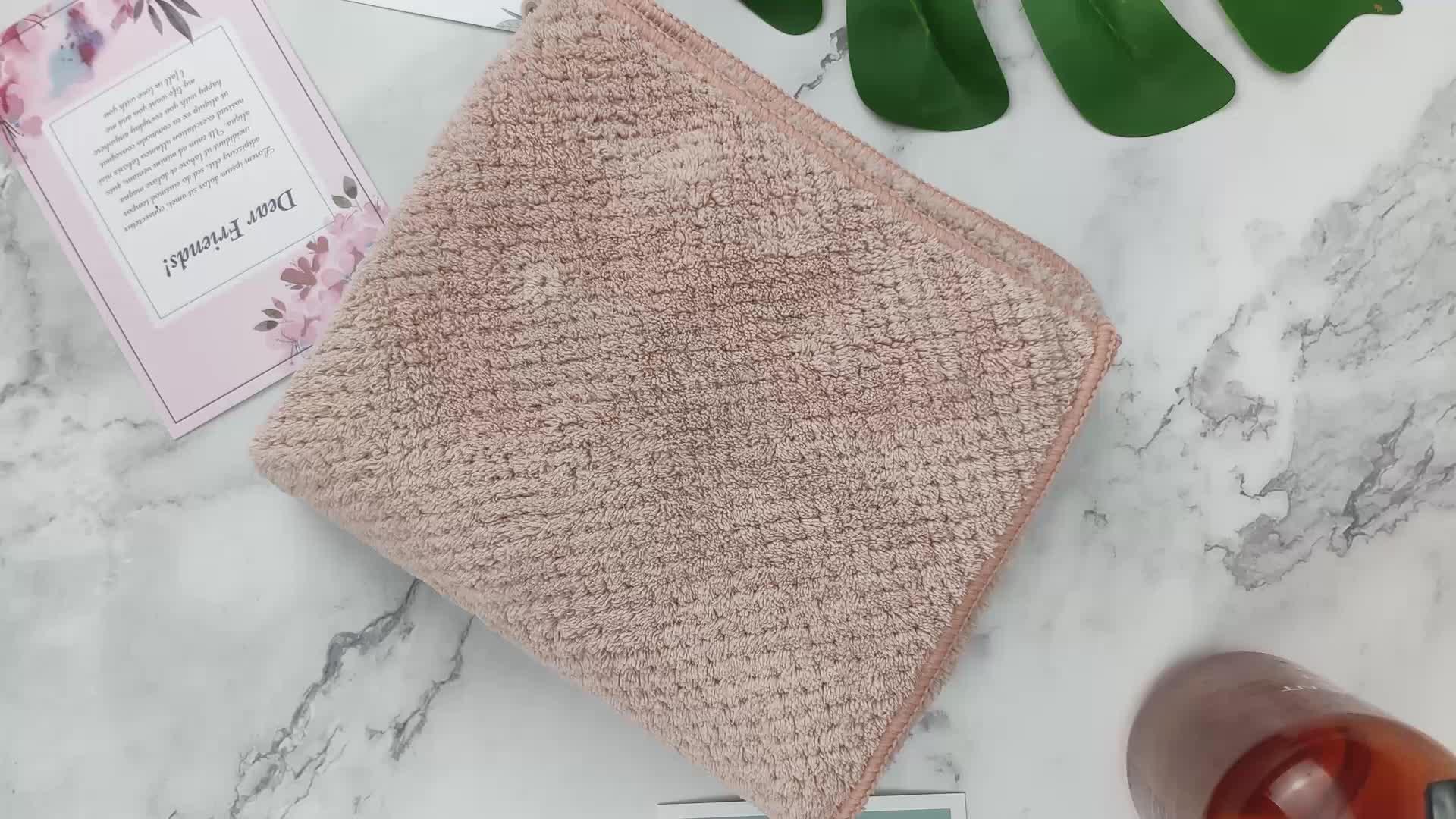 Milieuvriendelijke Duurzaam Microfiber Stof Grote Baby Veilig Face Handdoek