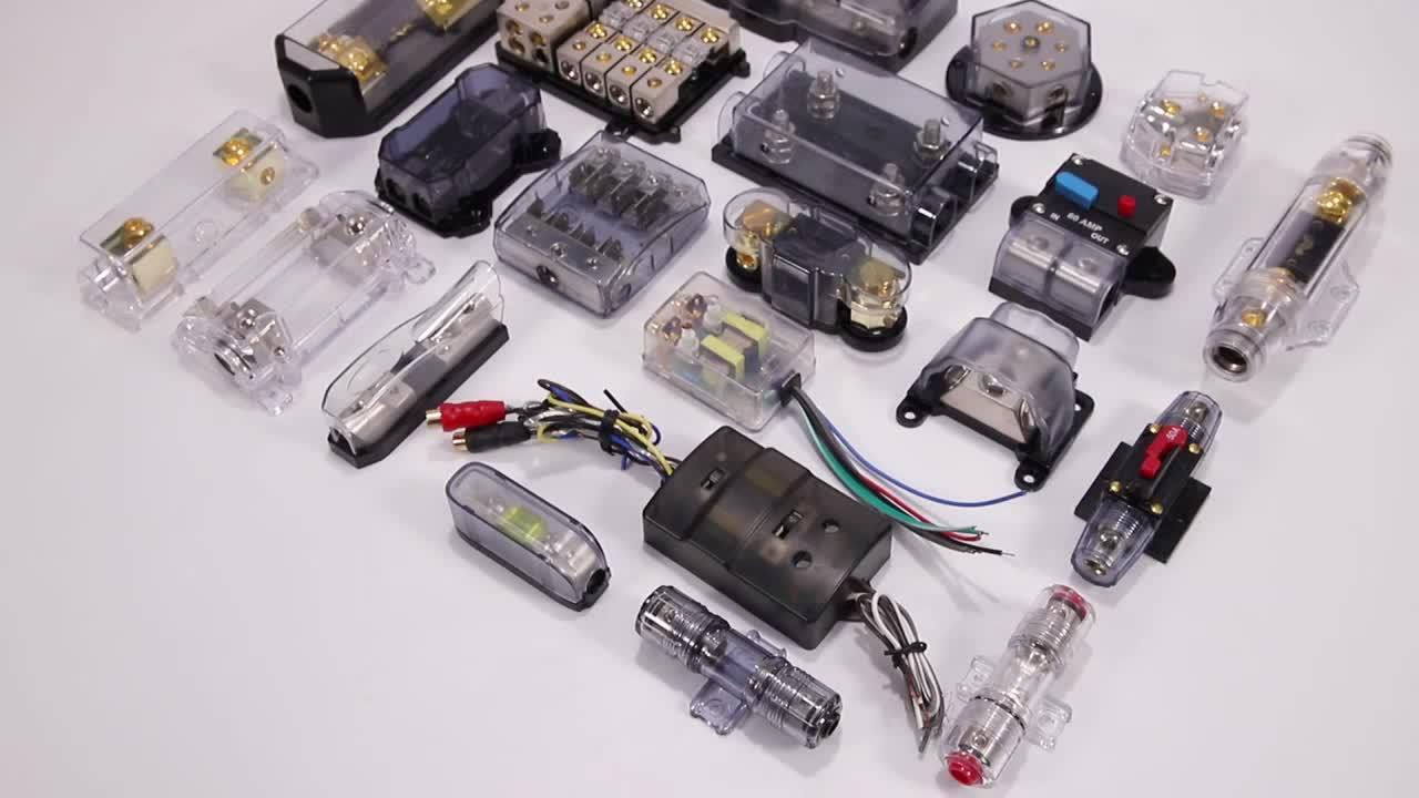 Standard 금 Nickel 도금 car audio Auto fuse