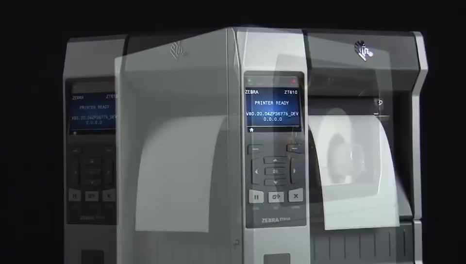 Zebra ZT230 Warmte Thermische Transfer Label Printer