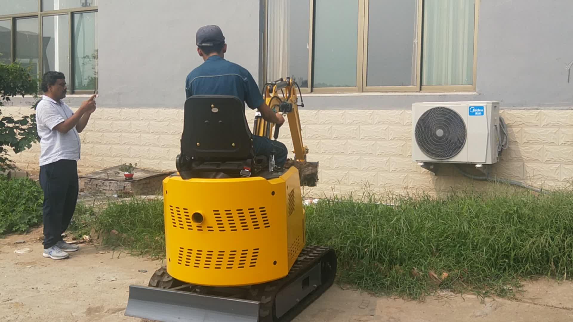 0,8 toneladas de 1 tonelada caterpillar Mini excavadoras máquina para la venta