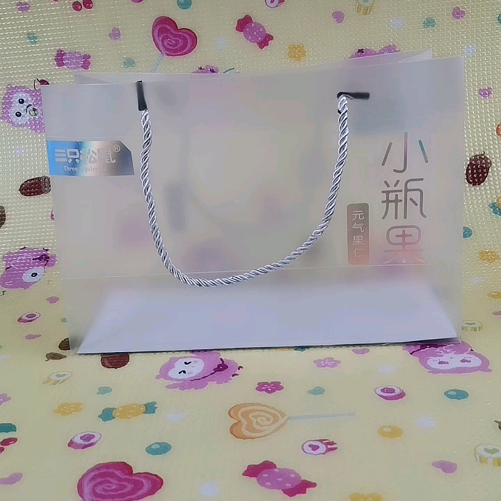 Translucent Frosted Gift Shop Name Ideas PVC Tote Bag