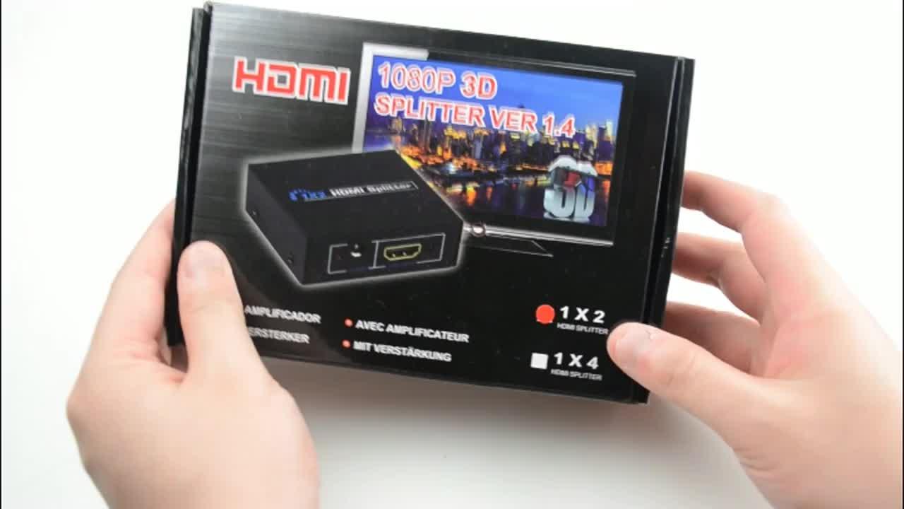 SIPU preço de fábrica 3D 2 splitter hdmi 1080P de saída 1 1x2