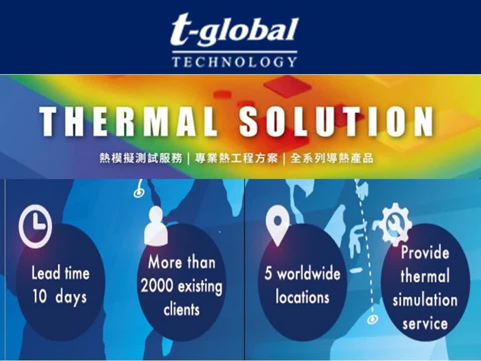 TGA 3500 thermal conductive interface silicon pad for heat sink