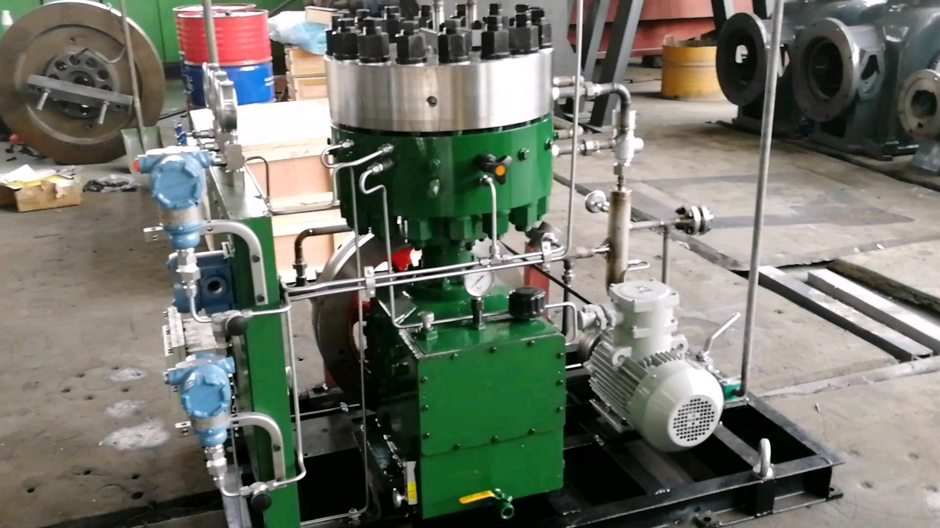 Горячая Распродажа заводская цена 2.5m3/ч 250bar высокого давления CNG натуральный Gas100 % без масла мембранный поршневой компрессор