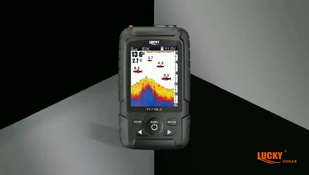 LUCKY Knight pro wireless and cable dual-use mode hot sale portable fish finder