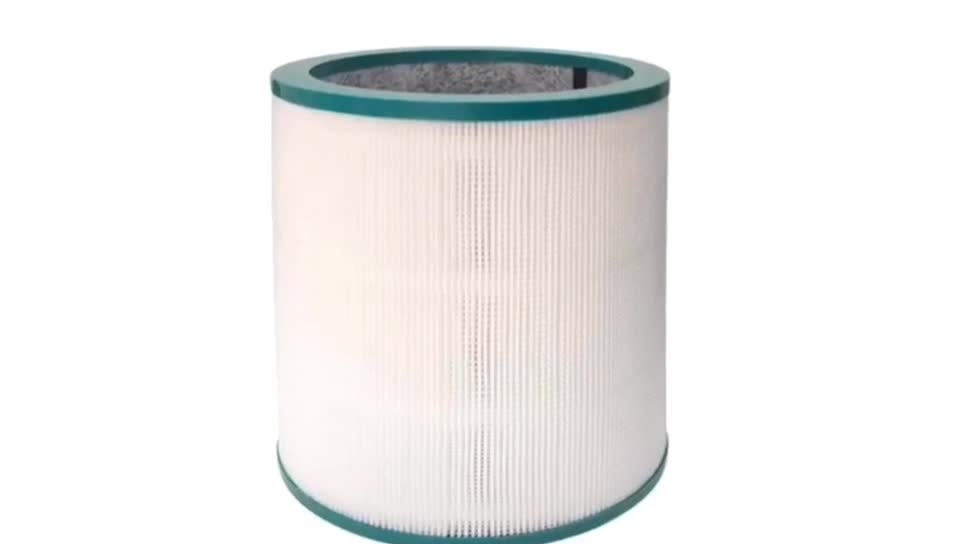 Green Cartridge HEPA Filter Replacements for Dysons TP00 TP01 TP02 TP03 AM11 Air Purifiers Replace Part # 968126-03