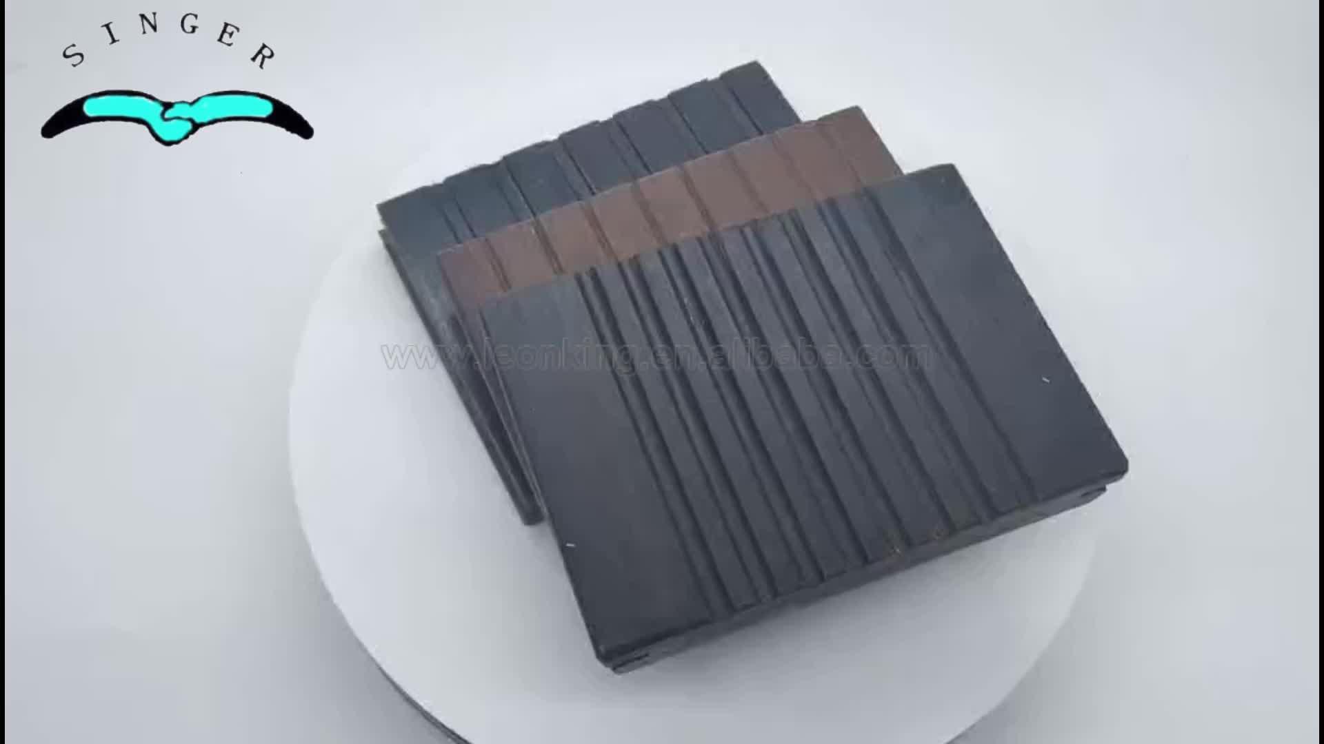 18mm Fire- resistance black bamboo decking