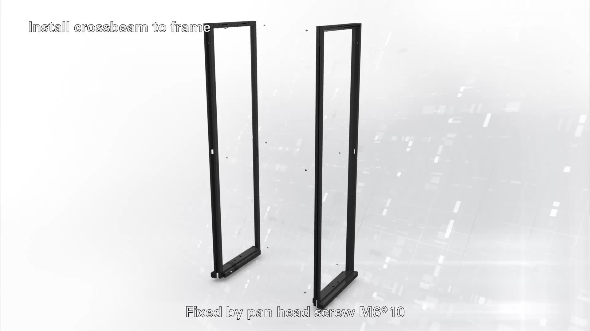 19'' 600mm-800mm Width, 600/800/1000/1200mm depth 18U-42U Black Server Cabinet/RACK