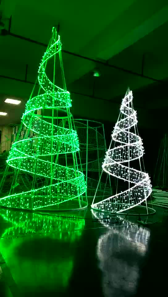 Led Outdoor Christmas Light Tree Frame Lighted Wire Product On