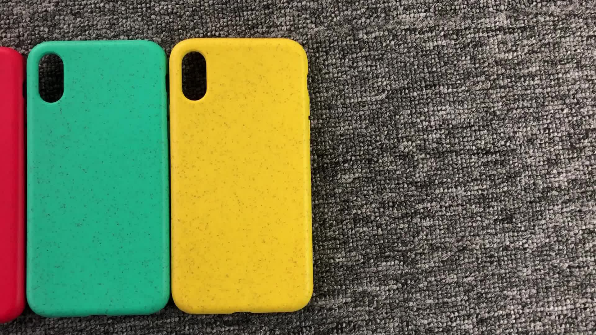 Laser Print Bio degradable Compostable Recycled Phone Case For iPhone 11