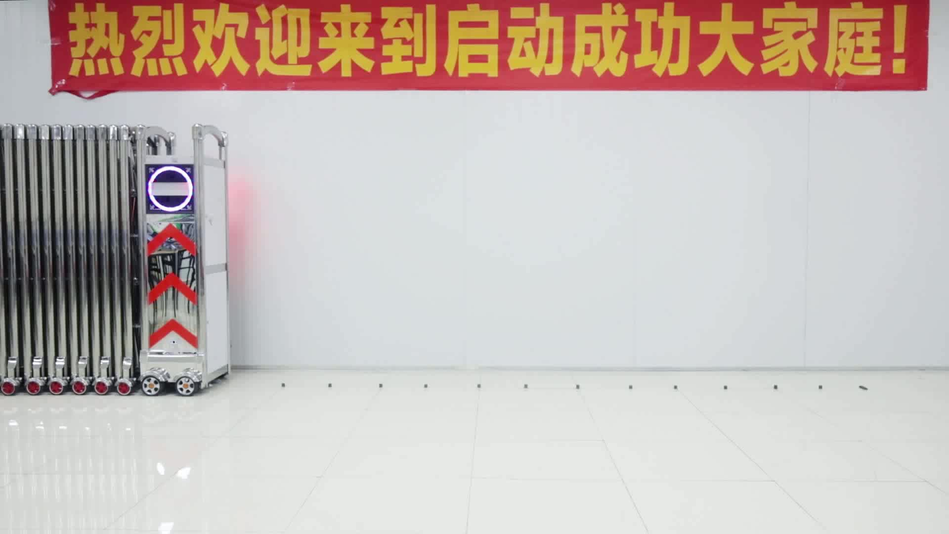 האוטומטי אלסטי דרך גבוהה שער מחסום שער דלת כניסה מכירה חשמלית QG-J1722 בארי r לתעשייה עם ציפוי אבקה