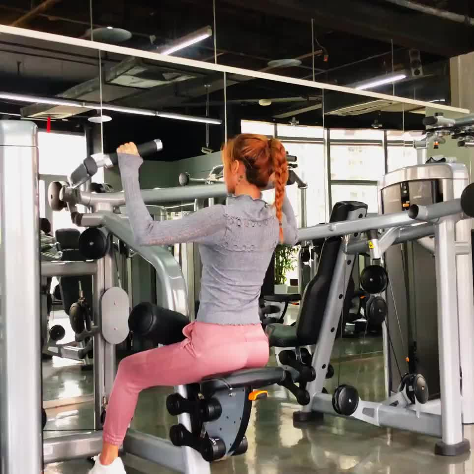 2020 スポーツウェア中空アウトヨガウェアプルオーバーシームレスヨガトップ長袖女性夏カスタムロゴスポーツシャツ