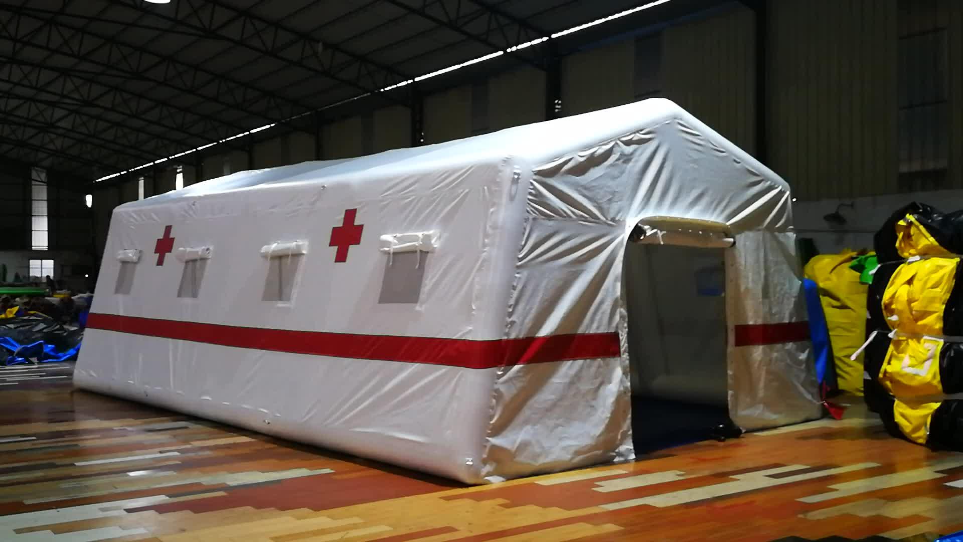 מותאם אישית מתנפח זמני חולים אוהל עבור חיצוני חירום