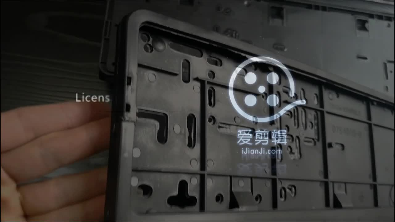 Goede Kwaliteit Europese Auto Nummer Licence Plate Frame