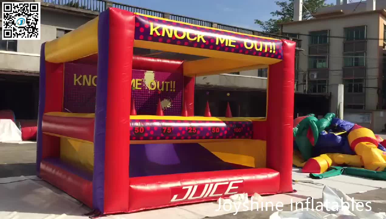 Knock Me Out Archery Hover Ball Games Interactive Shooting Game Inflatable Archery Tag For Kids and Adults