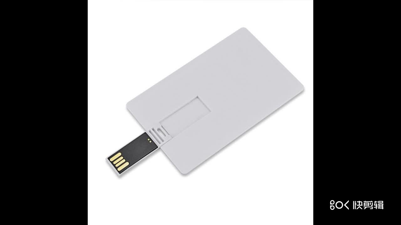 Promotion Gift Cheap Reflex Credit Card USB Flash Drive
