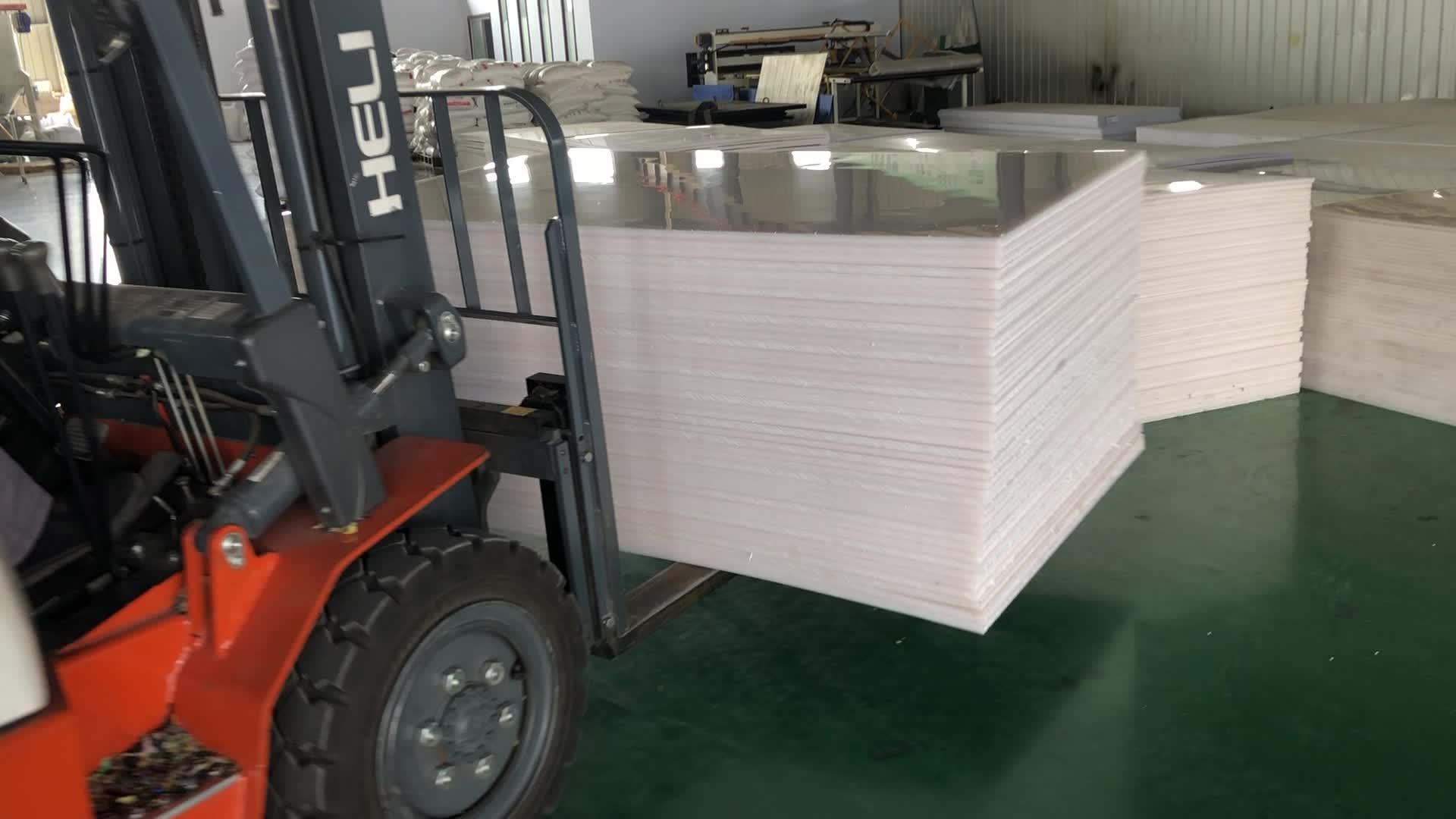 China No 1 Pabrik untuk Plastik HDPE Lembaran Uhmwpe Lembaran Plastik dan Plastik PP Sheet