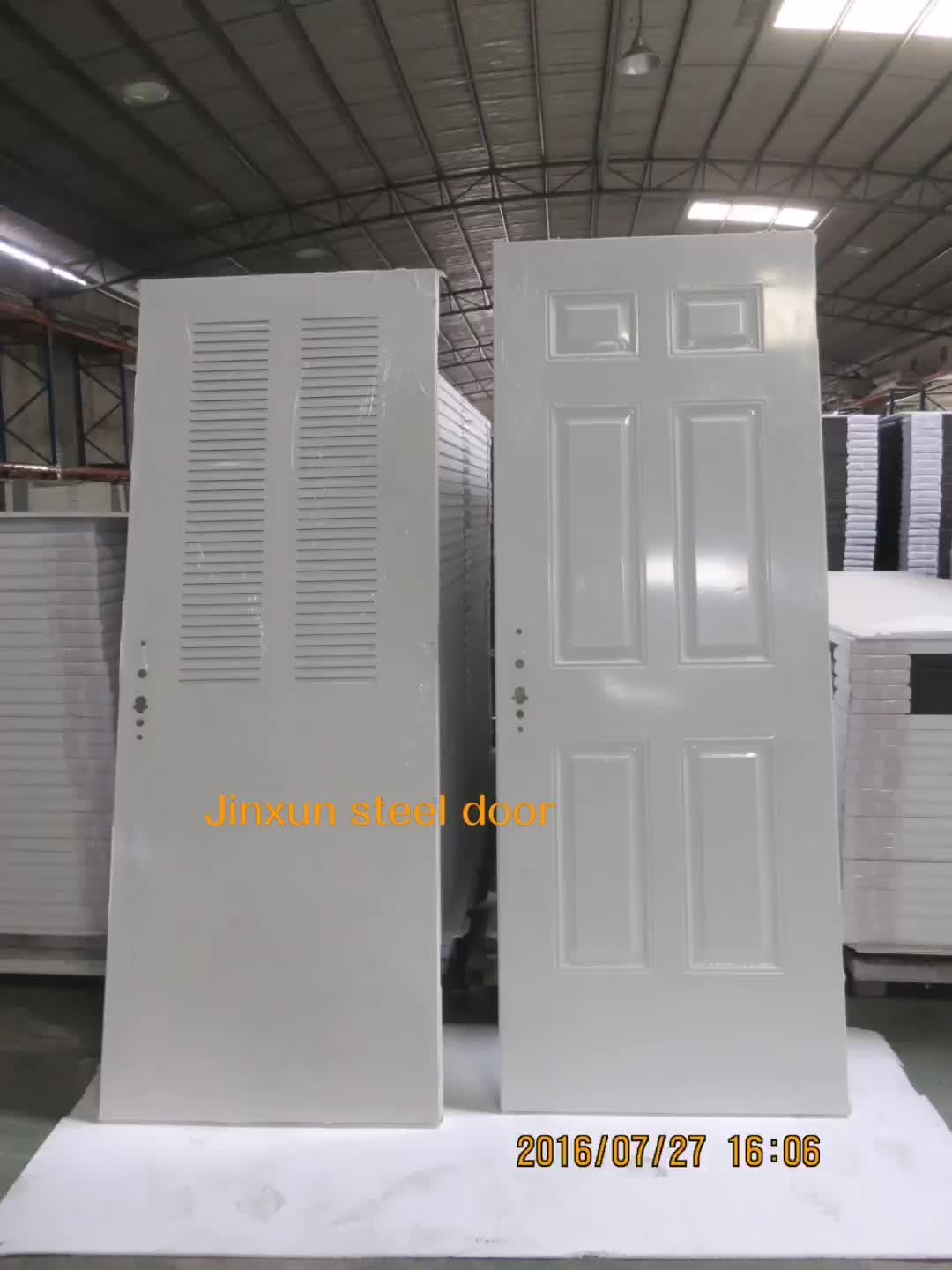 good quality steel fire exit door,2 hrs fire rated door with tempered glass for hotel