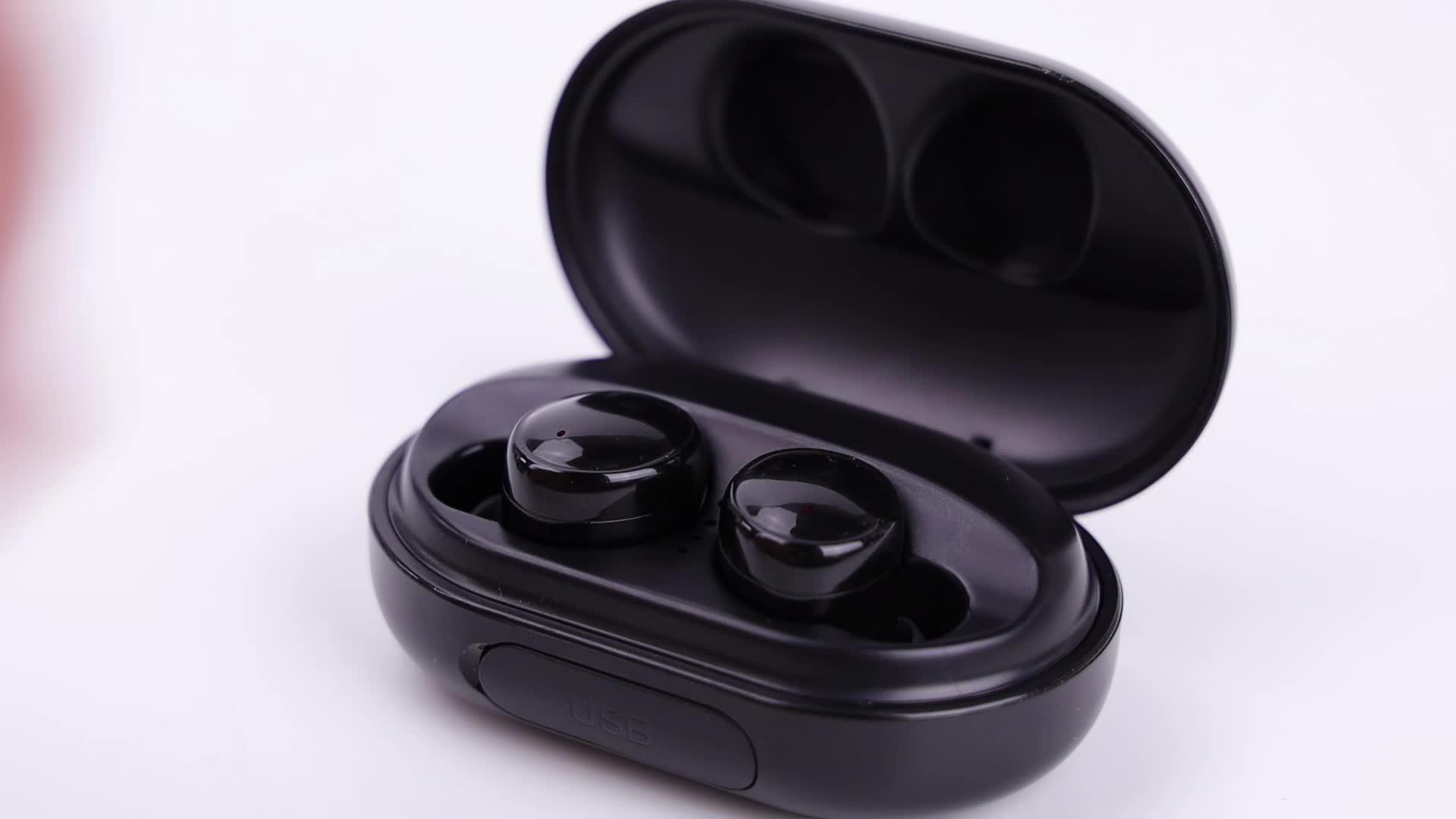 शेन्ज़ेन IPX8 नई वायरलेस handsfree स्टीरियो ब्लूटूथ 3500mAh मामले mic के साथ ईरफ़ोन सिर-फोन हेडबैंड स्पीकर