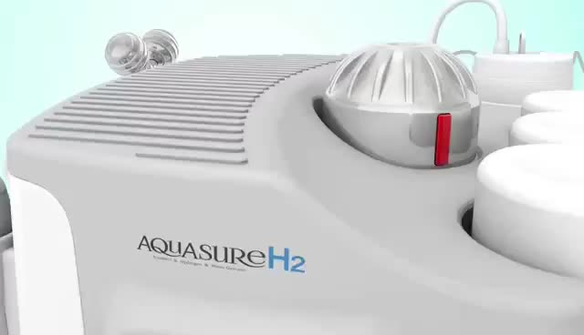 H2O2 Aqua Peel Bubble Korean AquaSure Oxygen Hydrogen Facial Cleansing Machine aquasure h2 solution aquasure